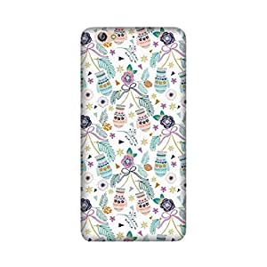 Abaci designed Oppo A57 Mobile Backcover with Perfect Matte finishing and Floral Pattern design(Multicolor)