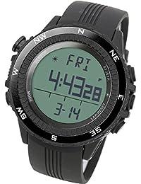 [LAD WEATHER] Sensore tedesco bussola digitale Previsioni del tempo Altimetro Barometro Cronografo allarme Outdoor (Alpinismo / a piedi / Campo) Sport Uomo Orologio da polso