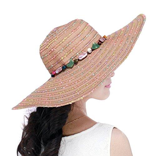 ladies Beach Sun Hat/Sun visor-UV-proof/Chapeaux de fête E