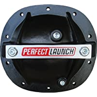 Proform 66667 Black Aluminum Differential Cover with Perfect Launch Logo and Bearing Cap Stabilizer Bolts for GM by ProForm