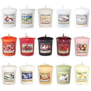 Yankee Candle Votive Value Bundle with 15 Votive Scented Candles, Mixed Popular Fragrances (B07HZMTKQ5) | Amazon price tracker / tracking, Amazon price history charts, Amazon price watches, Amazon price drop alerts