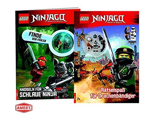 en Fehler, Knobeln für schlaue Ninja + Rätselspaß für Drachenbändiger ()