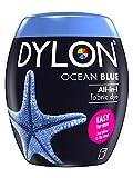 Dylon Teinture Textile pour Machine à Laver, Bleu océan, 8.5 x 8.5 x 9.9 cm