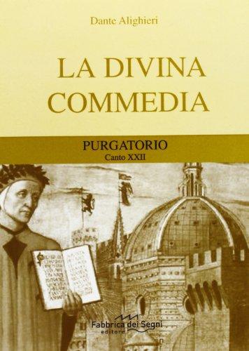 Divina Commedia. Purgatorio canto 22°