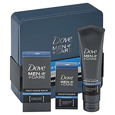 Dove Men + Care Essential Face Care Tin Mens Gift Set by Unilever