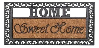 Kokosfußmatte Fußabstreifer Home Sweet Home 45x75cm von AS4HOME auf TapetenShop
