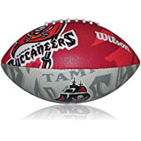 Wilson Football NFL Junior Tampa Bay Buccaneers Logo, Mehrfarbig, 5, WL0206594040