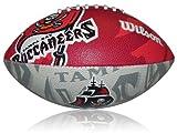 Wilson Football NFL Junior Tampa Bay Buccaneers Logo, Mehrfarbig, 5, WL0206594040