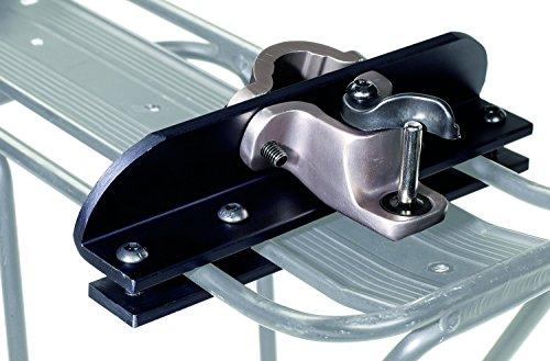 Burley Design Travoy Rack - Accesorio para remolque de bicicleta de ciclismo y senderismo, color negro