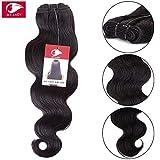 My-Lady 7A 100g 30cm Extension Capelli Veri Matassa Tessitura Mossi Brasiliani Unprocessed 100% Remy Virgin Human Hair Body Wave
