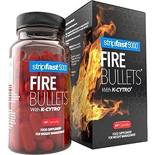 Weight Loss Fat Burner Diet Pills FIRE Bullets + K-Cytro for Women & Men Ultra Strong
