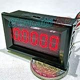 AMPEROMETRO DIGITALE DA PANNELLO 0-3A 0.1mA 5 cifre LED ROSSO ALTA PRECISIONE
