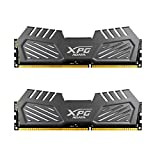 XPG by ADATA V2 DDR3 1600MHz (PC3 12800) 16GB (8GBx2) Memory Modules, Tungsten Grey (AX3U1600W8G9-DMV)