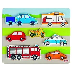 Goki Puzzles de Madera Encaje, En la Calle 57517.0