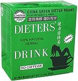 TRIPLE PACK - Uncle Lee's Tea, Legends of China, Dieter's 100% Natural Herbal Drink, No Caffeine, 30 Tea Bags, 2.42 oz