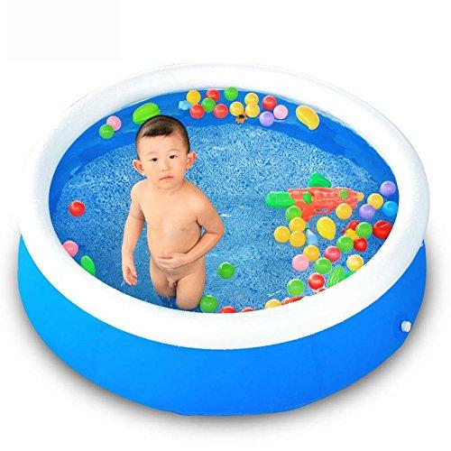 CZWYF Aufblasbares Schwimmbecken Familienbecken Ozeanballbecken PVC Tragbares Outdoor Indoor Kinderbecken (Größe: 150x40cm)
