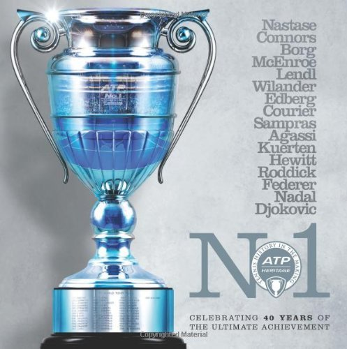 No 1 - Celebrating 40 Years of The Ultimate Achievement by The Association of Tennis Professionals (ATP) (Illustrated, 29 Jun 2013) Paperback par The Association of Tennis Professionals (ATP)
