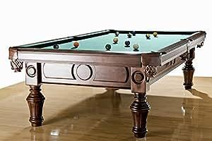 8 ft. Pool Billardtisch Modell General von Billiard-Royal mit Schieferplatte & aus Massivholz ca. 420 Kg Gesamtgewicht Billiardtisch Billard BilliardBilliardtisch Billard Billiard