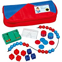 Betzold 86466 - Mathematik-Set Kinder Grundschule im Mäppchen - Mathe-Starterset Rechnen Lernen