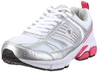 Ultrasport Sport und Laufschuh Modell 1,10065, Damen Sportschuhe - Outdoor, Pink (White/silver/pink 181), EU 36