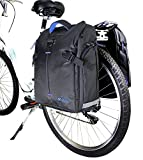 Best Bike Panniers - BV Bike Panniers (Pair), Large Capacity, 14 L Review