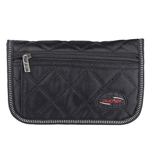 ammoon Nachhaltige Posaune Euphonium Trompete Mundstück Tasche Tasche mit 4Weich Compartments schwarz