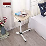 Tische Zr- Nachttisch Es Kann Sich Bewegen Laptoptisch Bett Mobiler Einfacher Schreibtisch Anhebender Fauler Fahrbarer (Farbe : B)