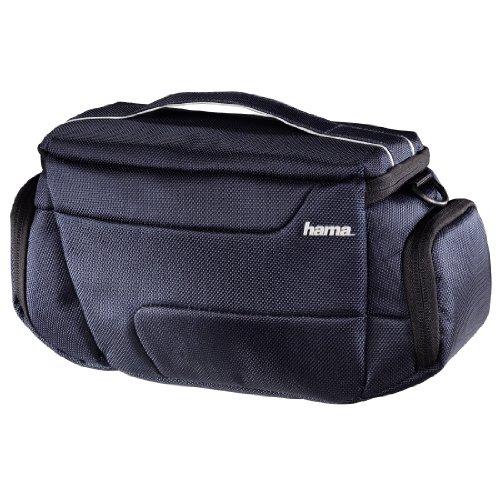 Hama Reise-Kameratasche für eine kompakte Systemkamera mit zwei Objektiven, Seattle 130, Navy