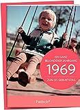 1969 - Ein ganz besonderer Jahrgang Zum 50. Geburtstag: Jahrgangs-Heftchen mit Kuvert