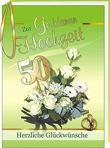 Zur Goldenen Hochzeit: Herzliche Glückwünsche