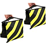 TARION 2Pcs Photo Studio Video Counterbalance Weight Sandbags for Outdoor Stage Flash Light Stand Boom Camera Tripod Yellow