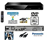 Panasonic 4K Ultra HD Blu-Ray Player With Multiregion DVD playback Model DP-UB391 /