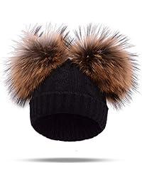 Amazon.it  pelliccia donna - Cappelli e cappellini   Accessori   Abbigliamento e0edd338a01e