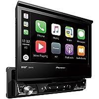 Pioneer AVH-Z7000DAB | 1DIN Autoradio – ausfahrbarer 7 Zoll Clear-Type-Touchscreen | Bluetooth | DAB+ | Apple CarPlay | Android Auto | Waze | Navigation | AppRadio | Freisprecheinrichtung | Media-Receiver für Audio Video CD DVD USB