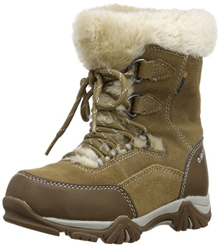 Hi-Tec - Stivali da neve, Bambina, Marrone (Honey/Warm Grey), 32 (13 uk)