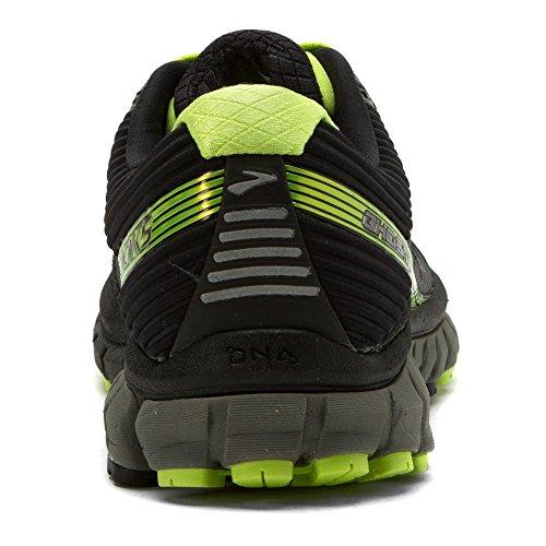 Brooks Ghost 9 Gtx, Chaussures de Course Homme, Black/Castlerock/Limepunch Black/Castlerock/Lime Punc