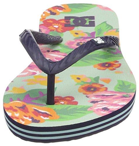DC Shoes - Spray Graffik J Sndl, Sandali infradito Donna Grigio (Grau (MU1))