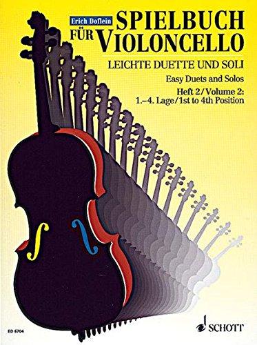 Spielbuch für Violoncello: Leichte Duetti und Soli, Vol. 2