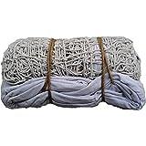 Glaze White Cotton Volleyball Net(White)