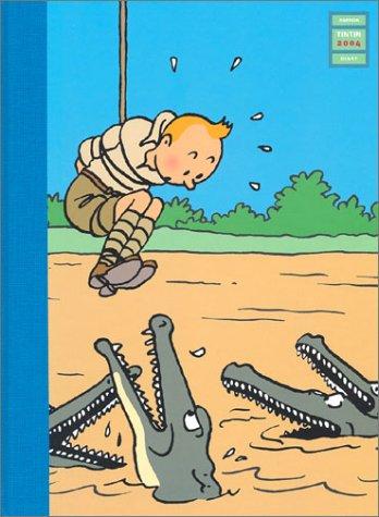 Agenda de bureau 2004 : Tintin