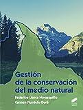 Gestión de la conservación del medio natural (Agraria)