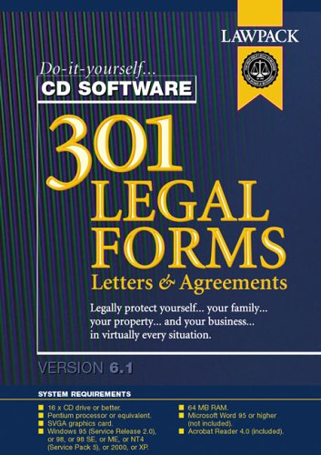 301 Legal Forms & Letters Test