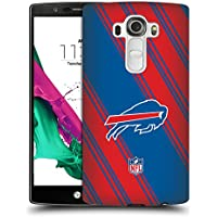 Official NFL Stripes 2017/18 Buffalo Bills Hard Back Case for LG G4 / H815