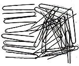 #2: High quality U shape ,Juda pins (pack of 100 piece) (Black)