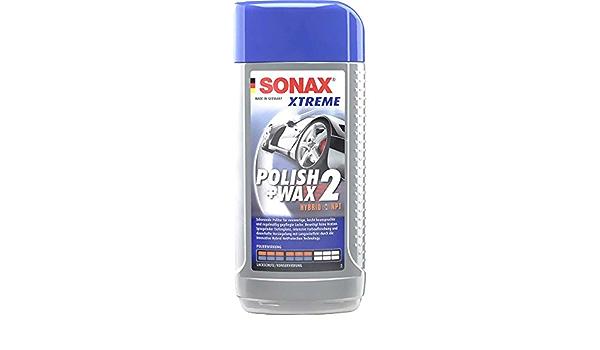 Sonax Xtreme Polish Wax 2 Hybrid Npt 500ml 2072000 4064700207202 Sport Freizeit