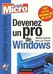 Devenez un pro de Windows : XP, Mille...