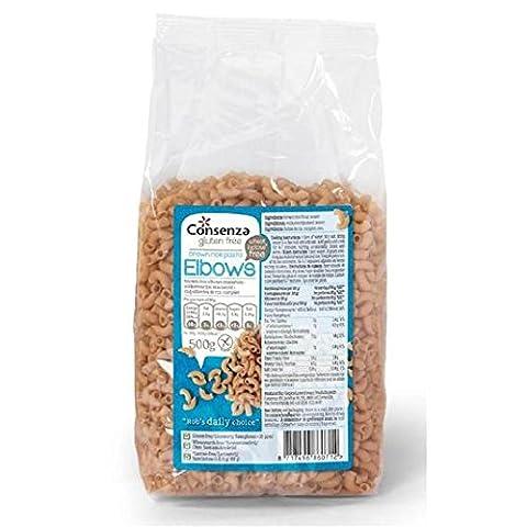 Consenza Gluten Free Wholemeal Macaroni 500g