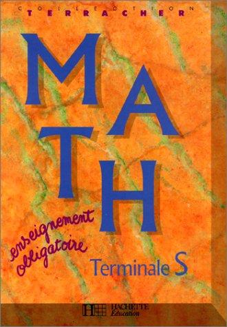 Math, Terminale S : enseignement obligatoire
