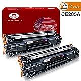 Toner Kingdom 2er Pack Toner kompatibel zu HP CE285A 85A, für HP Laserjet Pro P1102 P1102w P1104 P1104w M1130 M1132 M1132mfp M1134 M1134mfp M1136 M1136mfp M1210 M1210mfp M1212 M1212nf MFP M1213nf M1217nfw MFP