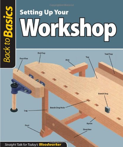 Setting Up Your Workshop: Straight Talk for Today's Woodworker (Back to Basics) (Back to Basics (Fox Chapel Publishing))